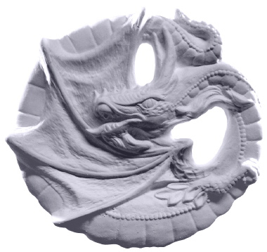 Dragon Plaster Plaque