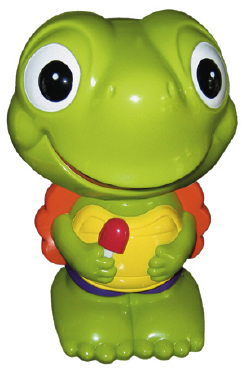 Timmy Turtle Unpainted Plaster Piggy Bank