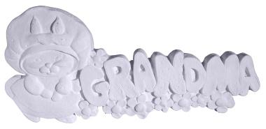 Grandma Plaster Plaque