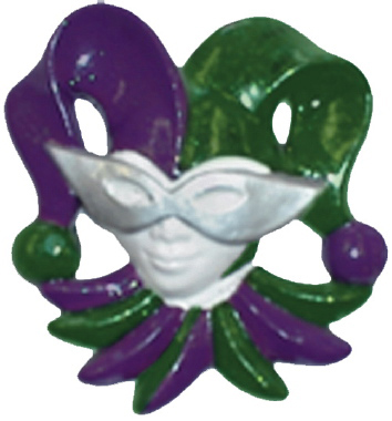 Jester Right Plaster Plaque