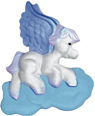 Baby Pegasus Plaster Plaque
