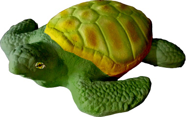 Sea Turtle Plaster Statue