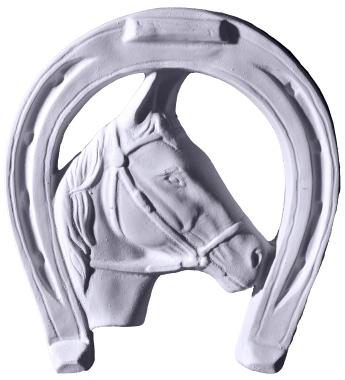 Horseshoe Plaster Plaque