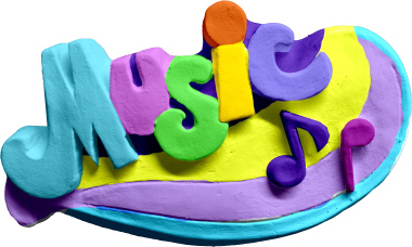Music Small Plaster Plaque