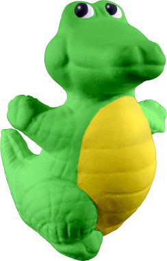 Happy Gator Plaster Statue