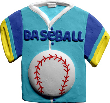 Baseball T Shirt Plaster Plaque