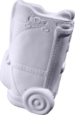 Golf Bag Plaster Pencil Holder