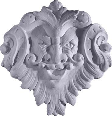 Wind Face Plaster Plaque