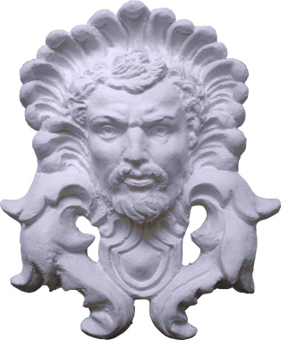 Zeus Plaster Plaque