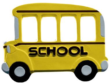 School Bus Plaster Picture Frame Fr175 Plastercraft Plaque