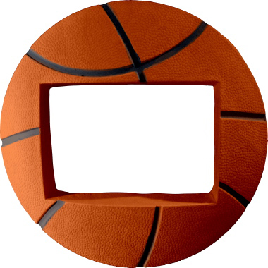 Basketball Plaster Picture Frame