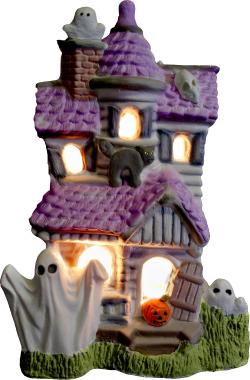 Plaster Halloween Statues