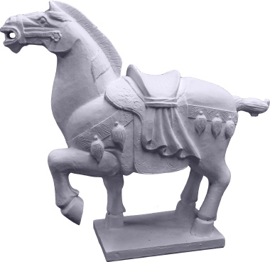 Tang Horse Plaster Statue