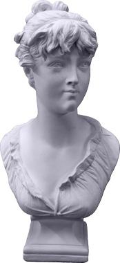 Christine Plaster Statue