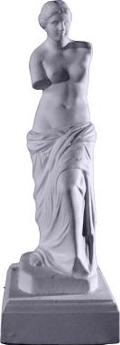 Venus De Milo Plaster Statue 9 Small