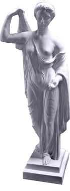 Aphrodite Eve Plaster Statue