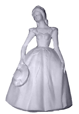 Summer Girl Plaster Statue