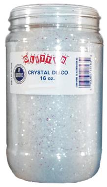 Crystal Disco Glitter 16 oz