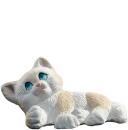 Lying Kitten  Statue
