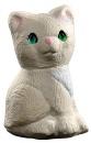 Cat Sitting  Statue