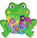 Love Frog Plaster Plaque