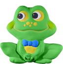 Happy Frog Boy Plaster Plaque