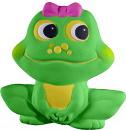 Happy Frog Girl Plaster Plaque