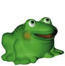 Happy Frog  Statue