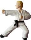 Karate Stance Plaster Plaque
