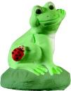 Frog Waving  Statue