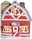 Village Barn Ornament