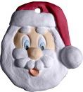 Happy Santa Face Ornament