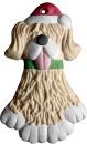 Shaggy Dog Ornament