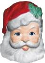 Santa Face Plaster Napkin Holder