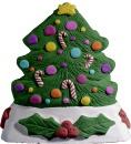 Christmas Tree Plaster Napkin Holder