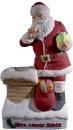 Here Comes Santa  Statue