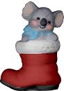 Koala in Boot  Statue
