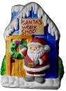 Santas Work Shop  Statue