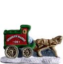 Village Dairy Wagon  Statue