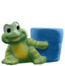 Frog Plaster Pencil Holder
