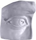 Davids Parts Eye Plaster Plaque