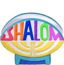 Shalom Plaster Napkin Holder