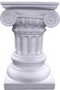 Ionic Plain Plaster Pedestal