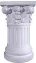 Ionic Round Base Plaster Pedestal
