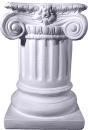 Ionic Short Plaster Pedestal