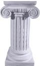 Ionic Plaster Pedestal
