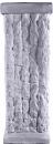 Cut Stone Plaster Pedestal