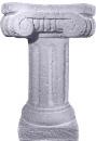 Massive Stone Plaster Pedestal