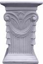 Drape Plaster Pedestal Medium