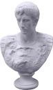 Caesar Bust Statue